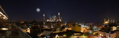 night cami hagia sophia