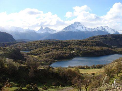 aysen landscape lakes region