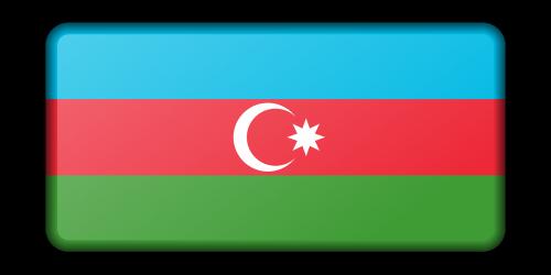 azerbaijan banner decoration