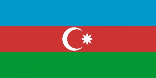 azerbaijan flag national