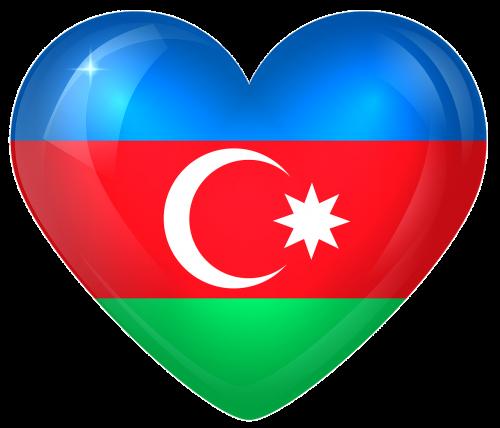 azerbaijan large heart