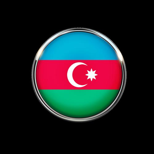 azerbaijan  flag  symbol