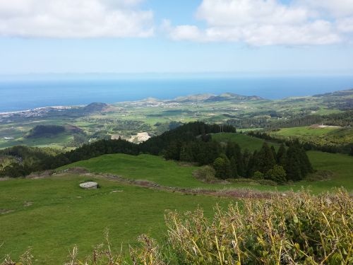 azores countryside portugal