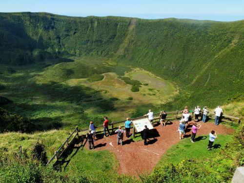 azores faial crater