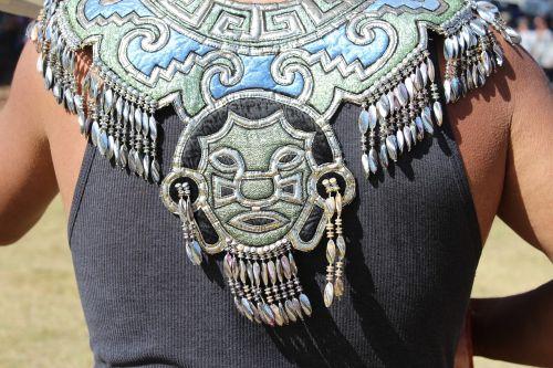 aztec indian coat of arms