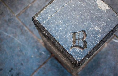 b typeface letter