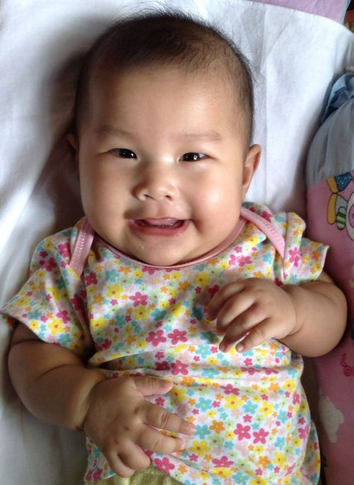 baby happy kid infant