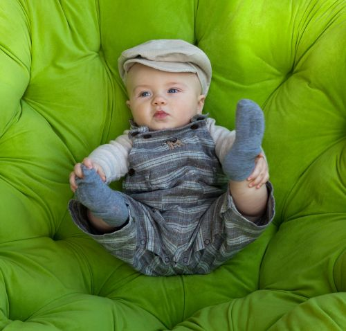 baby green infant