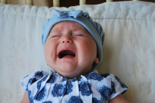 baby crying child