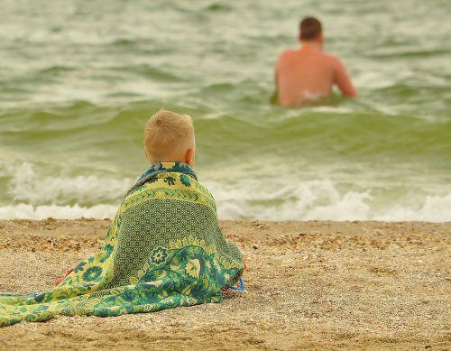 baby beach sea