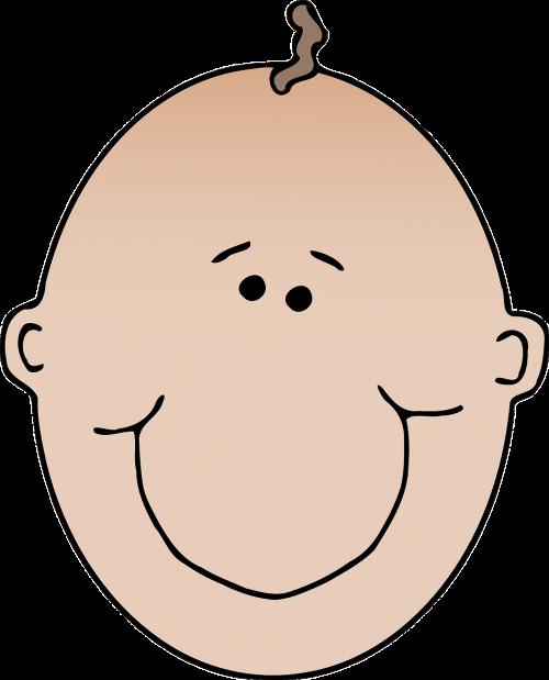 baby boy bald