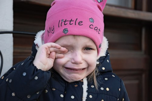 baby  tears  portrait