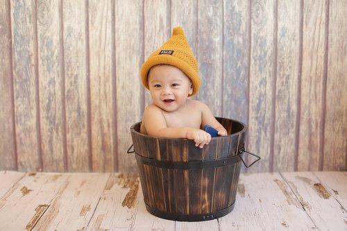 Kūdikių, kepurė, kaušas, mediena
