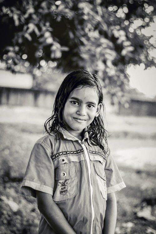 baby  indian girl  mo