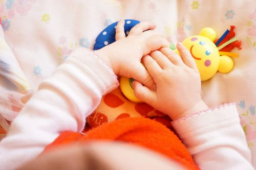 baby hand infant