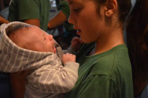 baby dialogue love