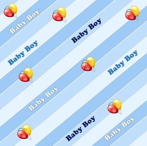 baby boy announce