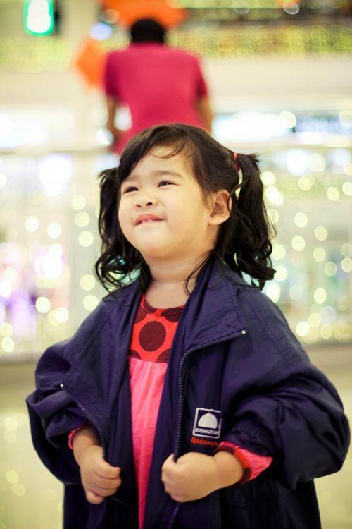 baby girl thai kid
