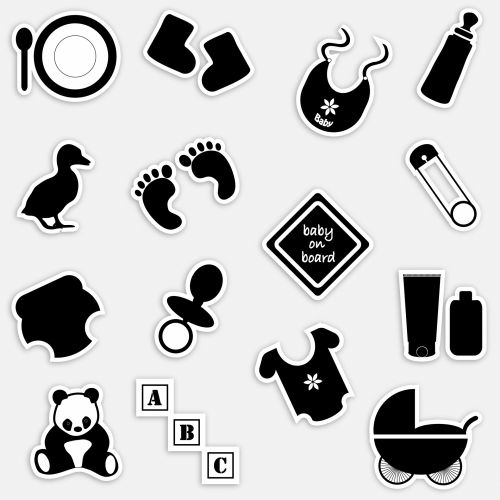 Baby Accessories And Symbols