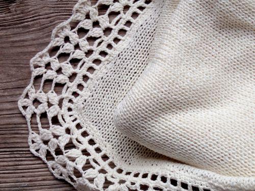 baby blanket handmade knit