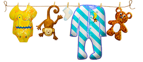baby boy clothesline  baby clothes  baby toys