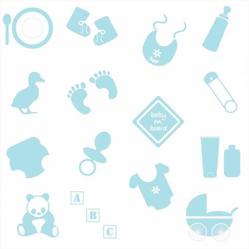 Baby Boy Symbols