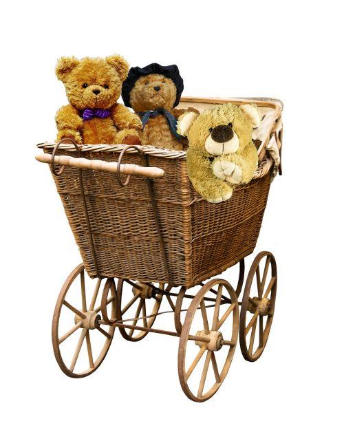 baby carriage old nostalgia
