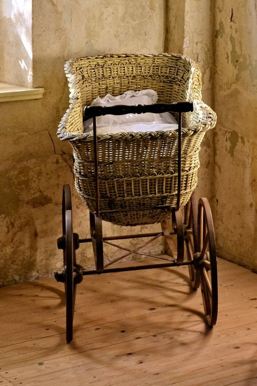 baby carriage old historically
