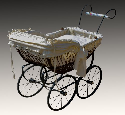 baby carriage old nostalgic