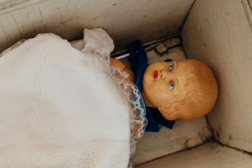 baby doll doll antique