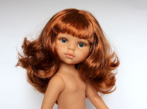 baby doll redhead doll doll paola reina