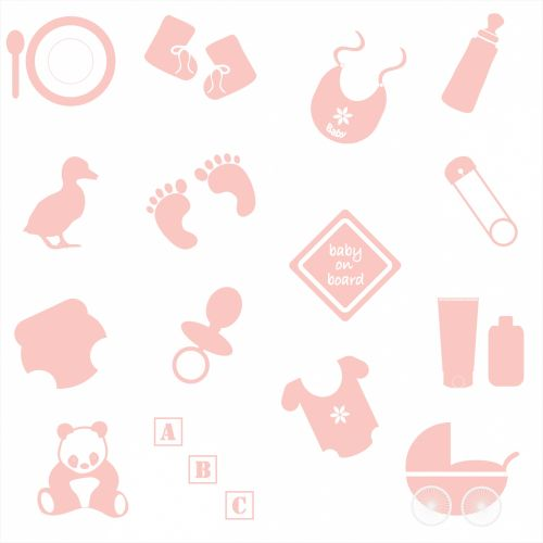 Baby Girl Symbols