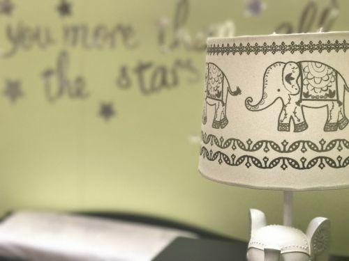 baby room nursery baby lamp