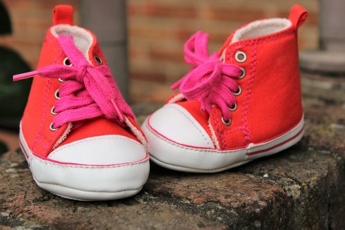 baby shoes  girl  charming