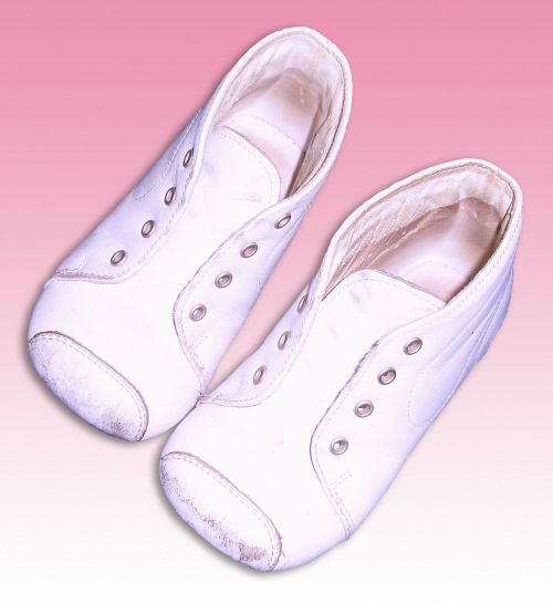 baby shoes white shoes