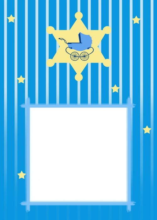 baby shower invitation card announcement