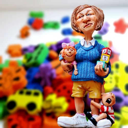 baby-sitter children educator toys