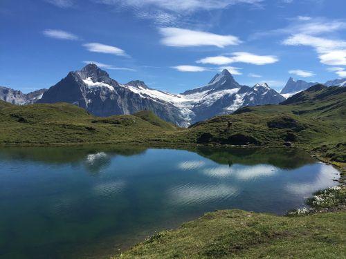 bachalpsee bergsee nature