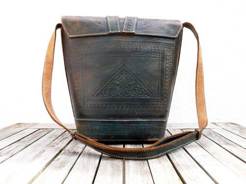 back handbag leather