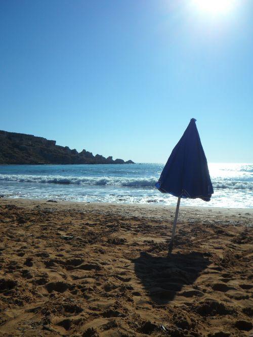 back light sea beach