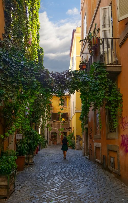 Back Street In Italy