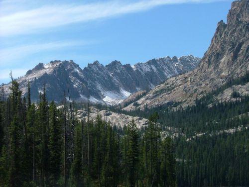 backcountry mountain range
