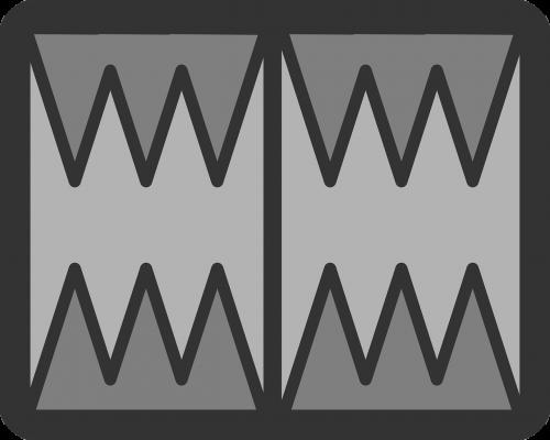backgammon shape game
