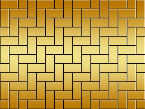 background gold tile