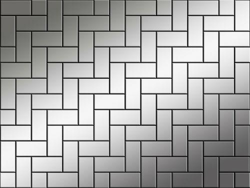 background silver tile