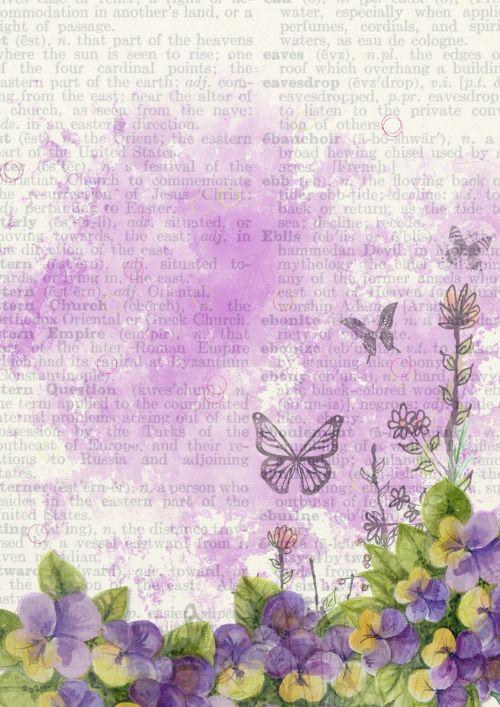 background flower purple