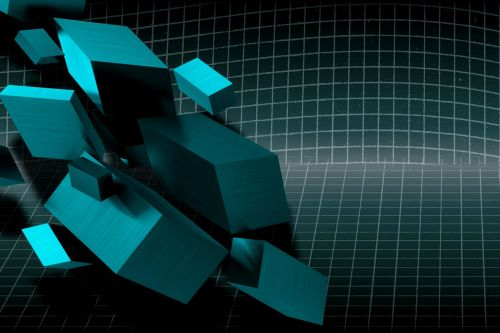 background cube squares