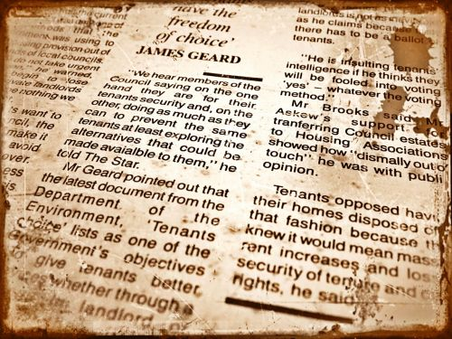 background abstract vintage newspaper