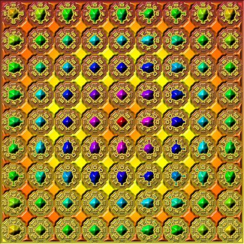 background tile kaleidoscope