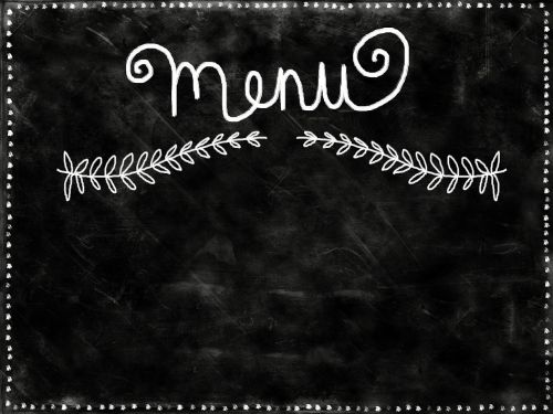 background chalkboard black